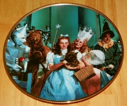 Collector Plate Wizard of Oz Commemorative There's No Place Like Home by Thomas Blackshear SOLD