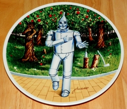 Collector Plate Wizard of Oz Collection Series If I Only Had a Heart