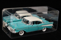 Diecast Vehicle Case Scale 1 : 24 Clear