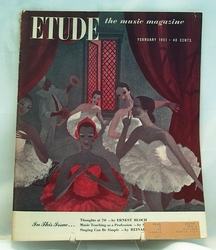 Etude The Music Magazine 1951 February