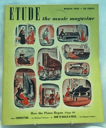 Etude The Music Magazine 1950 March