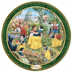 Disney Collector Plate Ever After Series Snow White SOLD