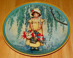 Collector Plate Easter Childhood Holiday Memories Series