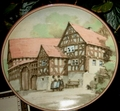 1984 1st Plate German Half-Timbered Houses Bedal