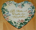 Collector Plate 2001 Legacy of Love Series Name Expressions From the Heart