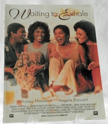 Sheet Music Book The Film Waiting to Exhale Whitney Houston