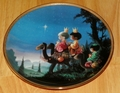 Collector Plate They Followed the Star Series Name Precious Moments Bible Story