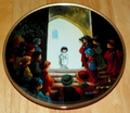 Collector Plate Jesus in the Temple Series Name Precious Moments Bible Story