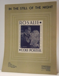 In The Still Of The Night Cole Porter - Sheet Music