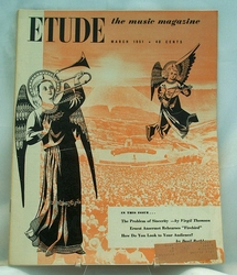 Etude The Music Magazine 1951 March