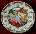 Collector Plate German Heinrich Tom, Tom The Piper's Son