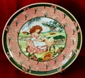 Collector Plate German Heinrich  Mary Had A Little Lamb
