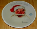 1988 Rockwell Plate Santa Claus Series Name Annual Holiday Plate