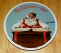 1997 Rockwell Plate For Good Boys and Girls Series Name Annual Holiday Plate