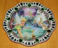Disney Collector Plate Jewels of Never Land Tinker Bell - Fairy Dust SOLD