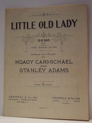 Little Old Lady - Sheet Music