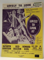 Lovely To Look At - Sheet Music