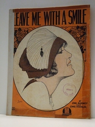 Leave Me With A Smile - Sheet Music