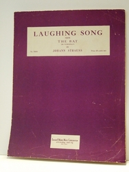 Laughing Song From The Bat - Sheet Music