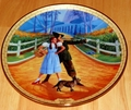 Wizard of Oz Bradford Collector Plate It's Pleasant Down That Way