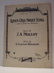 Love's Old Sweet Song - Sheet Music