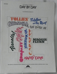 Sheet Music Day By Day 1971
