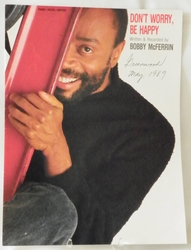 Sheet Music Don't Worry, Be Happy Bobby McFerrin 1988