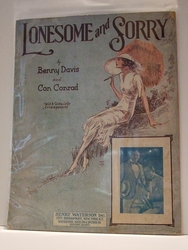 Lonesome and Sorry - Sheet Music