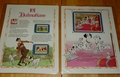 Classic Disney's Movie Collector Stamp Panels 101 Dalmatians