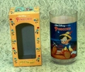 Disney Collector Plastic Glass Pinocchio