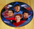 Star Trek Collector Plate 30 Years Second In Command