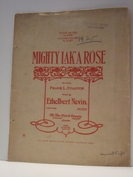 Mighty Lak' A Rose – Sheet Music