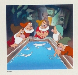 Disney Serigraph Ltd. Ed. Snow White and the Seven Dwarfs