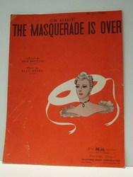 I'm Afraid The Masquerade is Over - Sheet Music