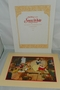 Disney Store 1994 Snow White & the Seven Dwarfs Exclusive Commemorative Lithograph