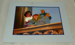 Disney Store 1997 Hunchback of Notre Dame Exclusive Commemorative Lithograph