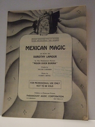 Mexican Magic - Sheet Music