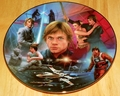 Star Wars Heroes and Villains Collector Plate Luke Skywalker HOLD