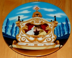 Disney Collector Plate Cinderella  Happily Ever After Out of Stock
