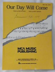 Sheet Music Our Day Will Come 1963