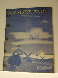 My Sister And I - Sheet Music
