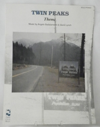 Sheet Music Twin Peaks Theme 1990