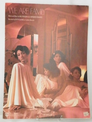 Sheet Music We Are Family 1979
