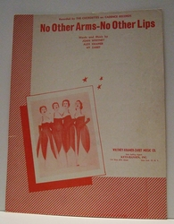 No Other Arms - No Other Lips - Sheet Music