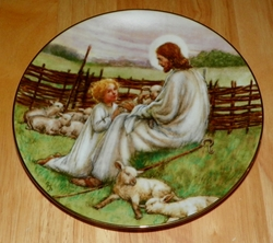 Collector Plate 88 THE LORD'S MY SHEPHERD Series Name Beloved Hymns of Childhood