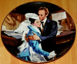 Gone With The Wind Collector Plate Question of Honor