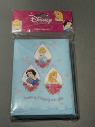Bifold Agenda Disney Princess Collection