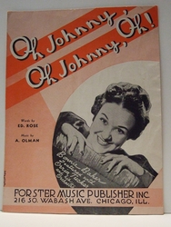 Oh Johnny, Oh Johnny, Oh!– Sheet Music