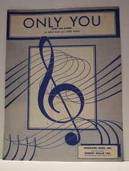 Only You (And You Alone) - Sheet Music