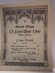 O Lord Most Holy – Sheet Music